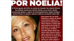 Justicia por Noelia Olivera