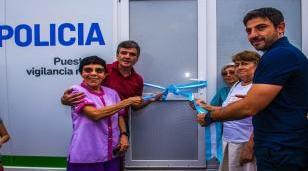 Zabaleta inauguró una nueva posta policial en Paso Morales y Combate de Pavón