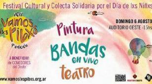 """Se viene la 4ta. edición del Festival Cultural y Colecta Solidaria """"Vamos Lxs Pibxs"""""""