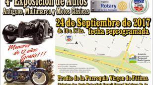 4° Exposición de autos antiguos, multimarca y motos clásicas