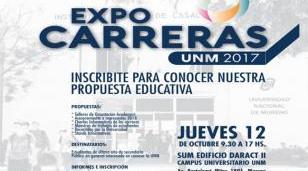 La UNM realiza la Expo Carreras  2017 y la IV Feria de Ciencias