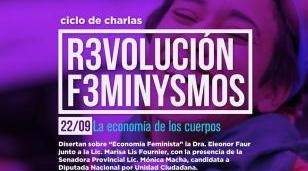 """""""La Economía de los Cuerpos"""": charla debate en Morón Centro"""