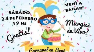 Se viene el corso de carnaval en Barrio Seré
