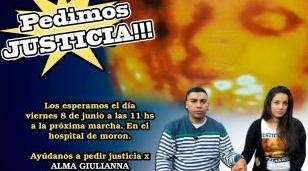Nueva protesta frente al Hospital deMorón por violencia obstétrica