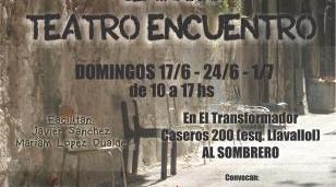 """Este domingo, """"Seminario Teatro Encuentro"""" en Haedo"""