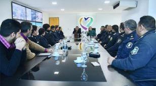 Moreno avanza en una línea de trabajo conjunta con la Policía local