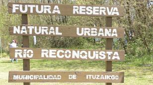 Recorrida por la futura reserva natural urbana de Ituzaingó