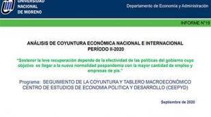 Informe n° 19 de Análisis de la Coyuntura Económica Nacional e Internacional