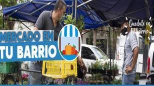 """Continúa el programa """"Mercado en tu barrio"""""""