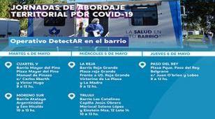 Operativos DETECTAR esta semana en Moreno