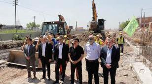 """construyen tres túneles bajo nivel y dos puentes aéreos en la estación Ramos Mejía"""""""