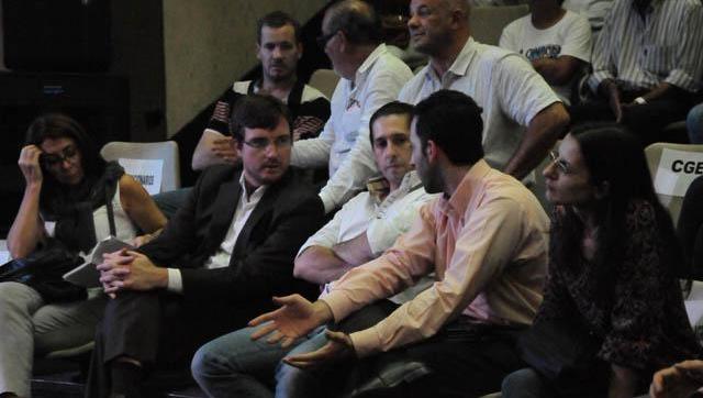 Lucas Ghi participó del encuentro de jóvenes empresarios junto a Axel Kicillof
