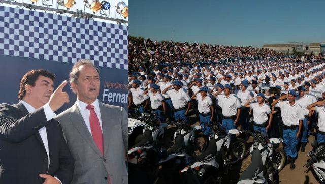 Scioli puso en funciones la Policía Local de La Matanza