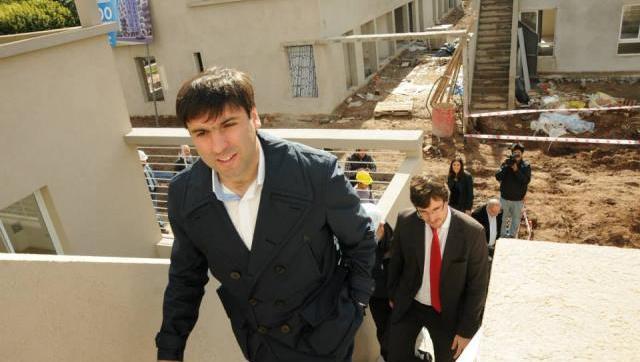Diego Bossio junto a Lucas Ghi recorrieron los desarrollos PRO.CRE.AR