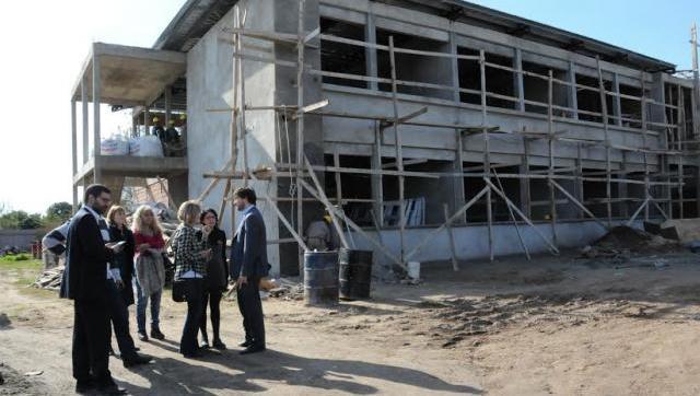 Avanza la construcción de tres nuevas escuelas