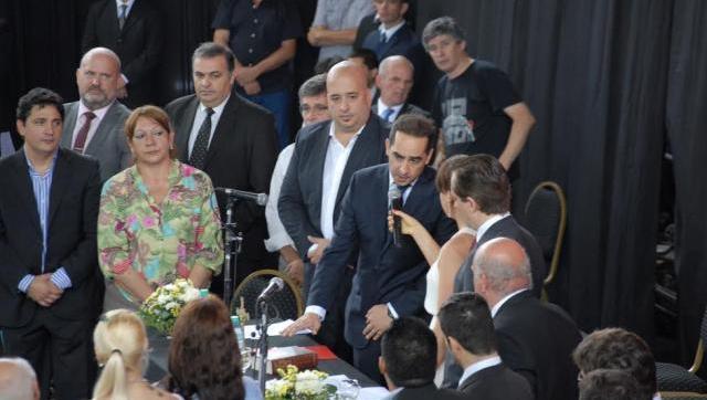 Ramiro Tagliaferro asumió la intendencia de Morón