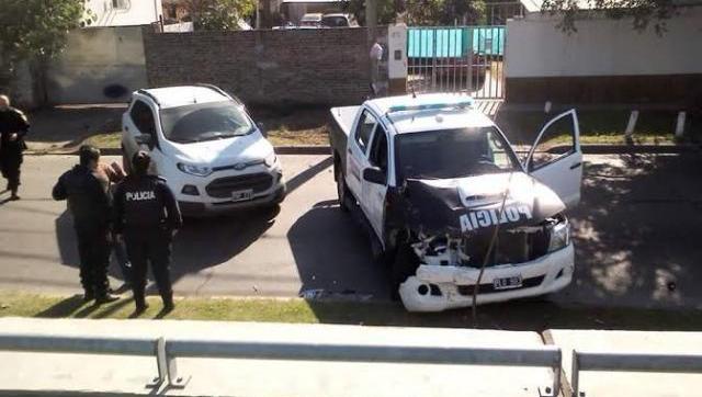 Robo y tiroteo en Castelar