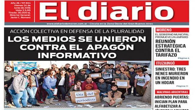 El diario N° 834