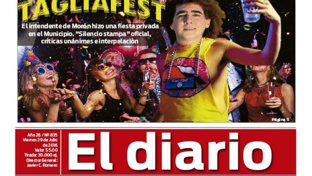 El diario N° 835
