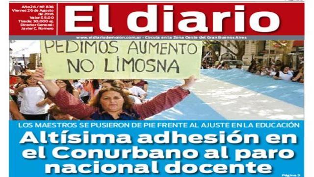 El diario N° 836