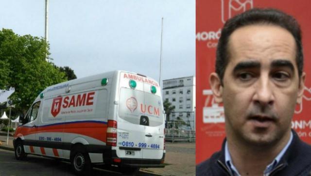 Negociado PRO: la Comuna le contrata ambulancias al secretario privado de Tagliaferro