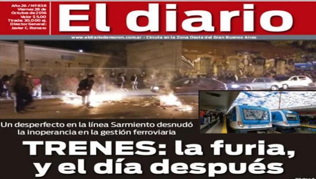 El diario N° 838