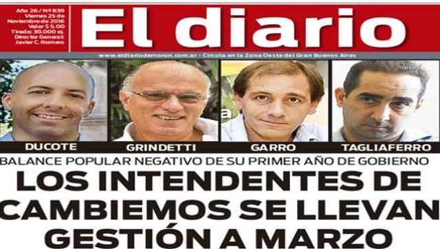 El diario N° 839
