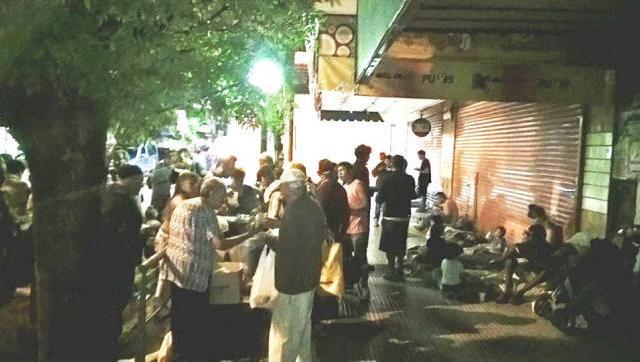 Calles Solidarias pide ayuda para poder seguir alimentando a las personas en situación de calle