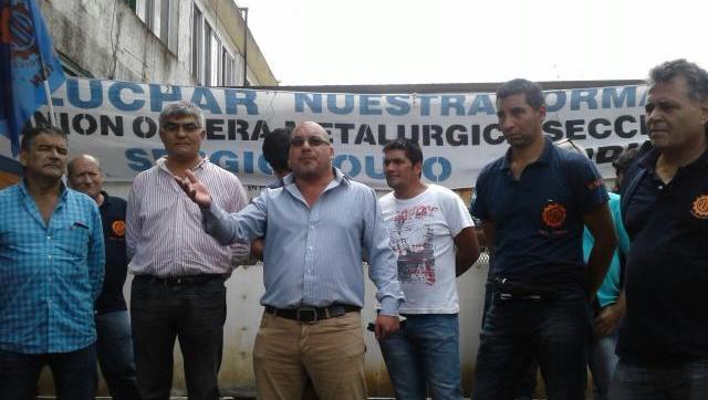 La UOM Morón salió a luchar junto a los trabajadores despedidos de una planta fabril