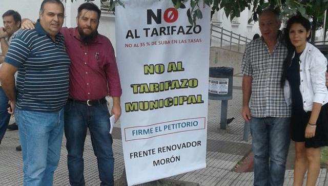 El Frente Renovador sale a juntar firmas contra el Impuestazo Municipal