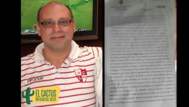 Madres del Jardín Municipal 4 denunciaron penalmente por maltratos al Director de Educación