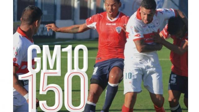 Todo un Gallo: Gerardo Martínez llegó a los 150 partidos con la camiseta de Morón