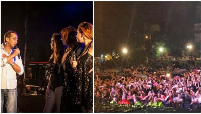 Unas 3 mil personas asistieron al archipromocionado show de Bandana en Morón