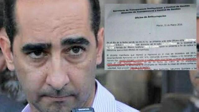 El intendente Tagliaferro cada vez más complicado: apareció una nueva denuncia de corrupción en el Municipio