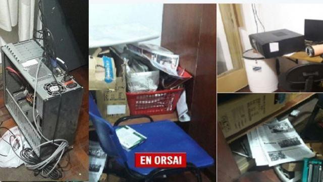 ¿Inseguridad o Persecución Política? violentaron las oficinas de Nuevo Encuentro en pleno centro de Morón