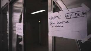 Segunda jornada del paro en los hospitales bonaerenses