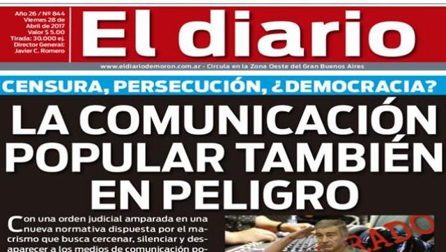 El diario N° 844