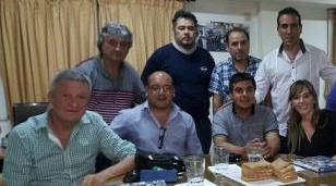Souto se reunió con Di Tullio y Oporto en la sede de la UOM Morón