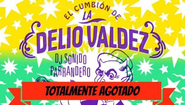 A mover las cachas: vuelve el cumbión de La Delio Valdez a Morón