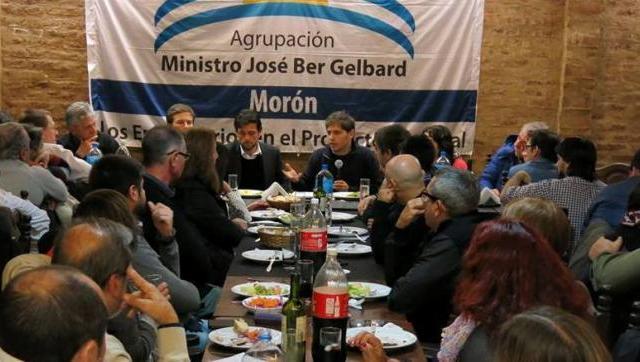 Kicillof debatió con más de 50 empresarios de Morón
