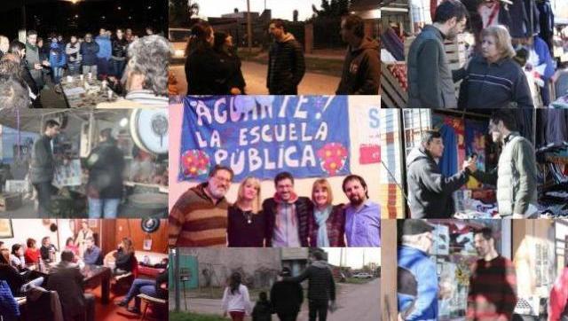 La Unidad Ciudadana recorre todos los barrios de Morón dialogando cara a cara con vecinos y comerciantes