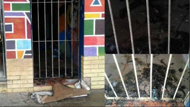 Los intolerantes de siempre: atacaron local de Nuevo Encuentro en Morón Sur