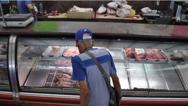 Cayó el consumo de carne por habitante