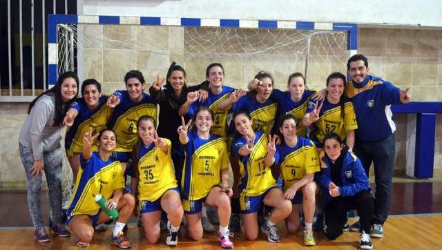 Tremenda campaña del handball femenino del Dorrego