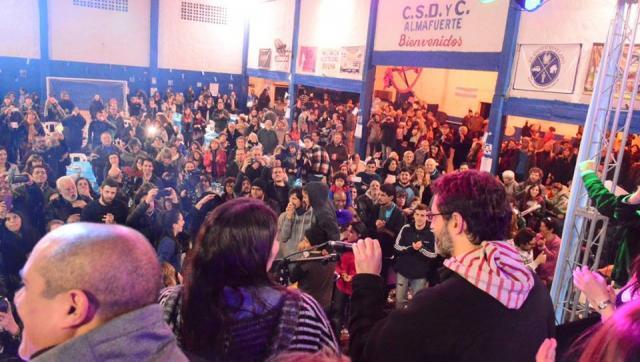 Unidad Ciudadana Morón arrancó la campaña con una multitudinaria peña vecinal