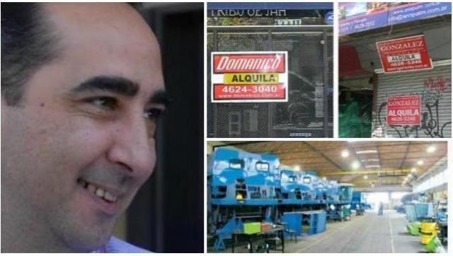 Tagliaferro eliminó la ayuda a pymes y fábricas en emergencia de Morón