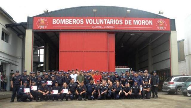 Orgullo Moronense: Bomberos Voluntarios cumple 37 años al servicio de la comunidad