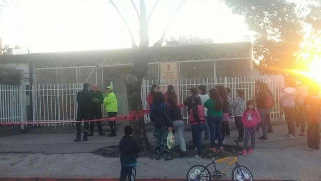 Escuela de Morón donde Vidal filmó propaganda sufrió un escape de gas: hay una maestra internada y chicos descompuestos