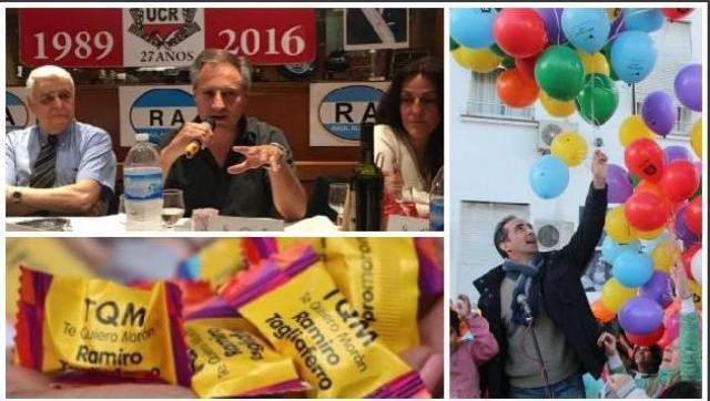 El radicalismo llamó a no votar la lista de Tagliaferro: