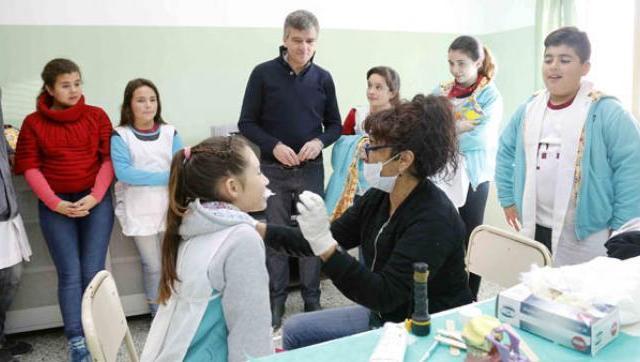 Programa de oftalmología para escuelas primarias y jardines públicos